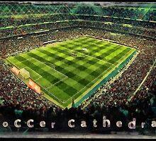 Soccer cathedral by Fernando Fidalgo
