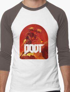 Doom Doot shirt Men's Baseball ¾ T-Shirt