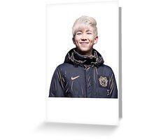 orange namjoon/rap monster Greeting Card