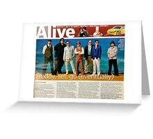 ARTICLE: Music, Fat Freddys Drop, Central Magazine and Wentworth Courier Greeting Card