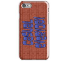 casual everyday iPhone Case/Skin