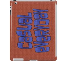 casual everyday iPad Case/Skin