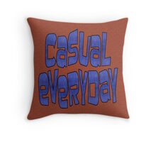 casual everyday Throw Pillow