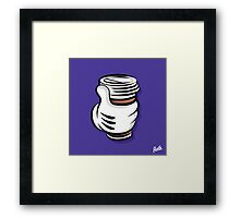 Coffee Hand Framed Print