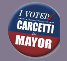 "I Voted Carcetti for Mayor (pin) - ""The Wire"" Kids Tee"