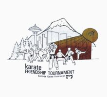 Karate Tournament One Piece - Long Sleeve