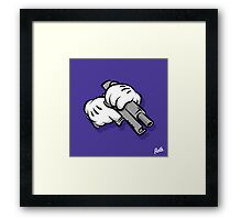 Gun Hands Framed Print