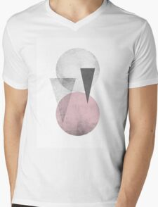 circles & triangles Mens V-Neck T-Shirt