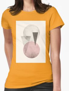 circles & triangles Womens Fitted T-Shirt