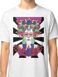 Colorful Day of the Dead Women Classic T-Shirt