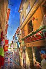 Sintra shops alley by terezadelpilar ~ art & architecture