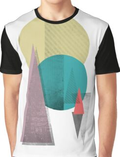 circles and triangles Graphic T-Shirt