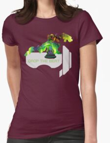 Beat the drop! Womens Fitted T-Shirt