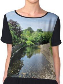 River Swale, Grinton Chiffon Top