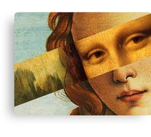 Botticelli's Venus and Mona Lisa Canvas Print