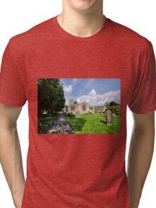 St Andrews Church, Grinton Tri-blend T-Shirt