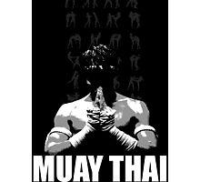 Muay Thai Photographic Print