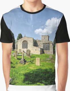 St Andrews Church, Grinton Graphic T-Shirt