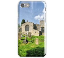 St Andrews Church, Grinton iPhone Case/Skin