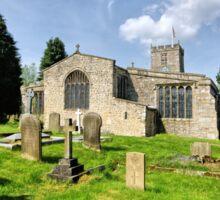 St Andrews Church, Grinton Sticker