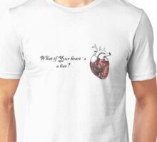 Liar heart Unisex T-Shirt