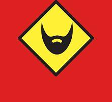 BEWARE beard yellow sign Unisex T-Shirt