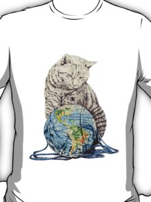 Our feline deity shows restraint T-Shirt