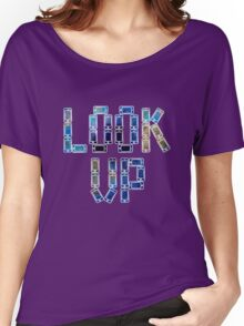 Look Up 02 Women's Relaxed Fit T-Shirt