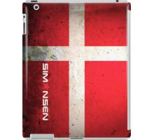 Allan Simonsen Tribute iPad Case/Skin