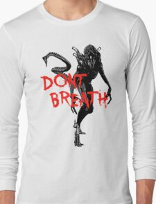 "NEW* ALIEN: ISOLATION MERCHANDISE... ""DONT BREATH"" Long Sleeve T-Shirt"