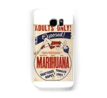 Adults Only: Marihuana Exposed! Samsung Galaxy Case/Skin