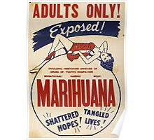 Adults Only: Marihuana Exposed! Poster