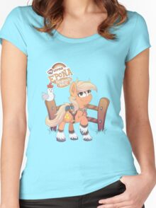 My Little Epona Women's Fitted Scoop T-Shirt