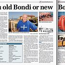 Best Feature Story - CNA Awards 2010, 'Are you old Bondi or new Bondi?', Wentworth Courier  by Meni