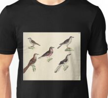 Naturgeschichte in Bildern mit erläuterndem Text E Strack 1820 Lief 2 Birds 056 Unisex T-Shirt