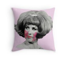 Miss Yvonne (2) Throw Pillow