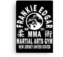 Frankie Edgar Martial Arts Gym Canvas Print