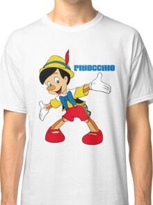 Pinocchio Cartoon Movie Funny Classic T-Shirt