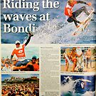 Kelly Slater at SurfSho in Bondi, published in the Wentworth Courier by Meni