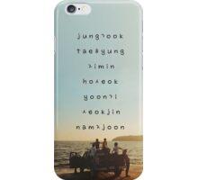 BTS phone case iPhone Case/Skin