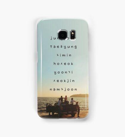 BTS phone case Samsung Galaxy Case/Skin