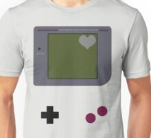 Gameboy Heart Unisex T-Shirt