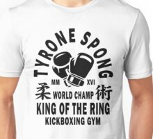 Tyrone Spong Kickboxing Gym Unisex T-Shirt