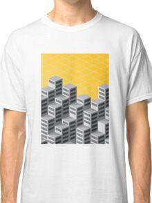 Isometric background Classic T-Shirt