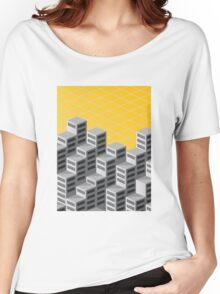 Isometric background Women's Relaxed Fit T-Shirt