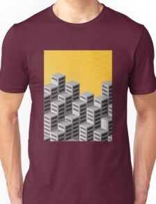 Isometric background Unisex T-Shirt