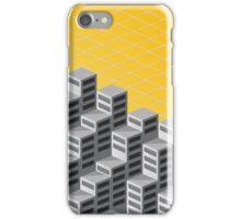 Isometric background iPhone Case/Skin