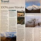 Travel article - 100 per cent pure Wanaka by Meni