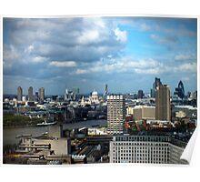 River Thames - London, UK Poster