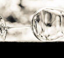 Sip some Porto Ruby wine...; Sepia glass. by Kornrawiee